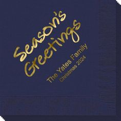 Studio Season's Greetings Napkins