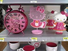 Living In A Pink World: Hello There Kitty! i have the piggy bank