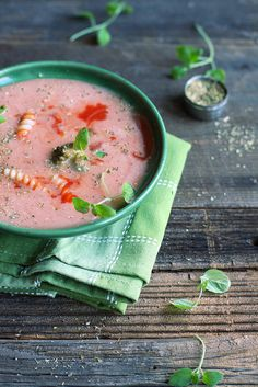 Tomato soup | Flickr: Intercambio de fotos