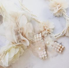 Beautiful luxury accessories for little Girls with a whimsical, boho feel…