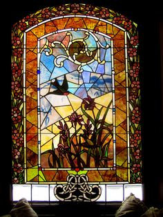 Window at the Top of the Stairs by carliewired, via Flickr