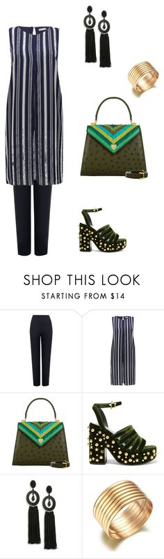 """""""Casual drama"""" by anna-cherepanina on Polyvore featuring мода, WearAll, M&Co, Lana Marks, MR by Man Repeller и Oscar de la Renta"""
