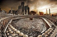 Majid -e- Harram Evening