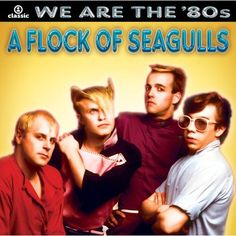 """A Flock of Seagulls (also known as Flock of Seagulls) are an English New Wave band originally formed in Liverpool by brothers Michael """"Mike"""" Score (keyboards, vocals) and Alister """"Ali"""" James Score (drums), with Frank Maudsley (bass) and Paul Reynolds (guitar).     The group had a string of international hit singles including """"I Ran (So Far Away)"""", """"Space Age Love Song,"""" """"Wishing (If I Had a Photograph of You)"""" and """"The More You Live, the More You Love"""", and also becaome famous for their…"""