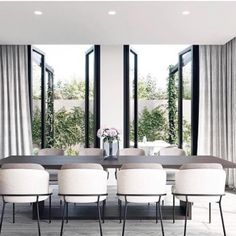 Modern Dining Room Chairs That Will Change Your Home Decor Dining Room Design, Dining Room Table, Dining Rooms, Dining Room Modern, Small Dining, Modern Living, White Dining Chairs, Designer Dining Chairs, Dining Area