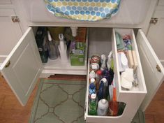 Under sink pullout Almost Finished...lots of pics - Kitchens Forum - GardenWeb