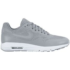 Nike Gray Air Max 1 Sneaker found on Polyvore