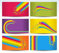 Color notes background 02 vector