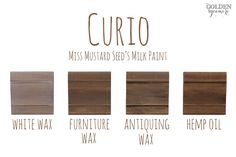 Miss Mustard Seed�s Milk Paint Colors and Finishes