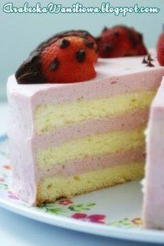Vanilla Cake, Fruit, Recipes, Food, Cakes, Pies, Kuchen, Polish, Scan Bran Cake