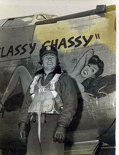 "B-24 Liberator - ""Classy Chassy""."