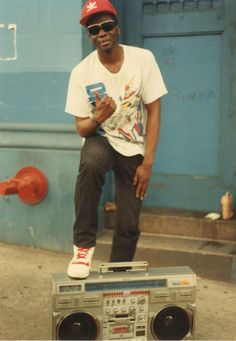 Remembering Buddy Esquire, the King of the Hip-Hop Flyer #music #photo #hiphop