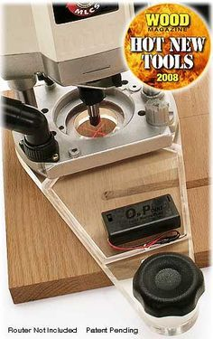 OnPoint Laser Guided Router Plate with LED lights