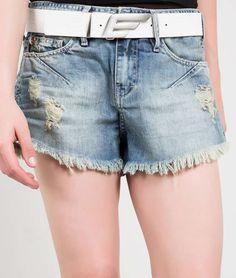 Ellus - SHORT ORIGINALS DENIM (EVASE) CINTO E ASA | Shorts | OFF