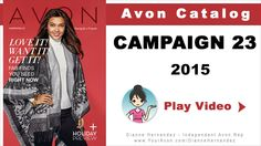 Avon Catalog October 2015 | Avon Holiday Campaign 23  – http://www.GoHereToShop.com – Inside the Campaign 23 Avon Catalog the Avon Holiday Collection 2015 makes its debut! It's never too early to start planning for the holidays and inside Campaign 23 you'll get a glimpse of what's to come. To the view the current Avon Catalog use this link http://www.GoHereToShop.com