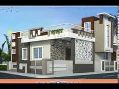 Simple Home Design Ground Floor Breathtaking Small House Plan Home Design Simple And Elegant Small House Design With 3 Bedrooms And 2 Elegant House Elevation Designs For Ground Floor. 3d Home Design, Simple House Design, House Front Design, Home Design Plans, Design Ideas, Single Floor House Design, Duplex House Design, Front Elevation Designs, House Elevation