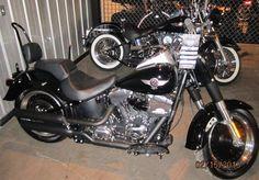 2012 Harley Davidson Fat Boy Lo  254 Miles, 103cc, Vivid Black #2473 $20,999.00