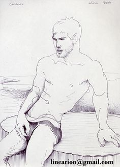 sitting in a column ink on paper,21x30cm http://pixels.com/featured/sitting-in-a-column-line-arion.html