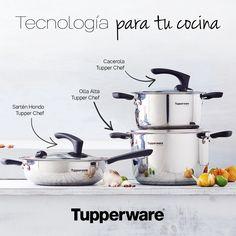Paquete Futura Tupper Chef #ProductoTupperware #Tupperware