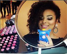 Maquiagem da @niuelersantos da NYX do Shopping Internacional Guarulhos
