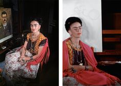 These are some of the last photos of Frida Kahlo—they're gorgeous