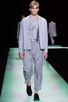 Emporio Armani Spring 2016 Menswear - Collection - Gallery - Style.com