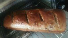 Pan integral de arándanos con nuez