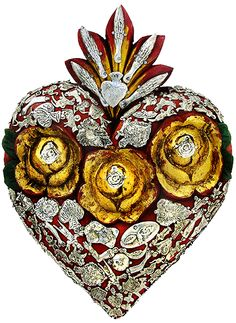 Mexican Sacred Heart cutout #png