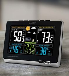 Wireless Weather Station in Color by La Crosse® Basic Weather Instruments from Wind & Weather on Catalog Spree