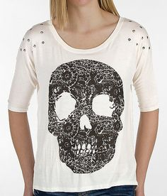 Daytrip Skull T-Shirt - Women's Shirts/Tops | Buckle