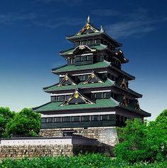 関東・甲信越の城 Japanese Castle, Japanese Art, Japan Photo, Beautiful Scenery, Castles, Culture, Mansions, Architecture, House Styles
