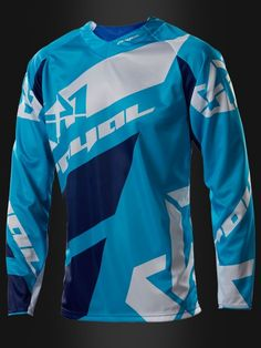 Royal Racing 2016 Victory Race Jersey Cyan Blue Navy Blue White front 2d7452469