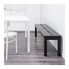 BJURSTA Bänk, brunsvart - IKEA