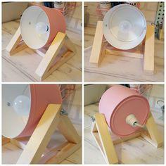 DIY: Lámpara de mesa con una caja de metal - Blog decoración estilo nórdico - delikatissen