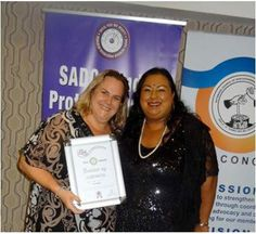 Chobe Safari Lodge wins Runner-Up at the 2014 SADC Gender Protocol Summit Awards in the Gender Based Violence Category