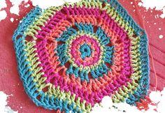 Crochet chaleco para Anto en producción