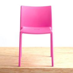 plastic chair.