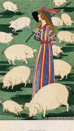 Mela Koehler, Fashion illustration