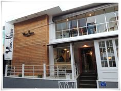 Mouse Rabbit Coffee! a coffee shop owned by famous korean boyband member, Super Junior 'Yesung'.  Address : MouseRabbit, 5-14, Hwayang-dong, Gwangjin-gu, Seoul, Korea.