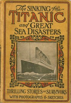 The Sinking of the Titanic 1912. Best book on the topic. Read it five times last year!