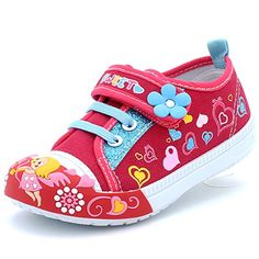 TravelNut Christmas Special Selena Casual Flat Heeled Sandals with Buckle for Little Girls Assorted Colors