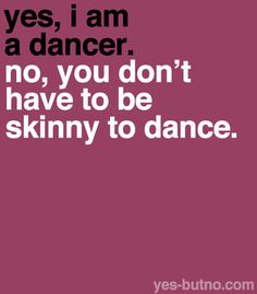 ;) anyone can dance if they want to!!