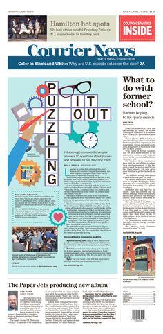 Courier News 4/24/16 via Newseum