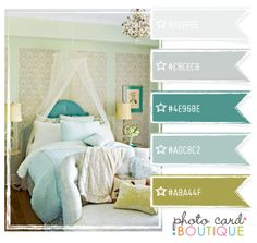 Perfect colors -- just a shot of brighter teal!