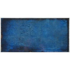 carrelage design mural brillant bleu 15 x 30 cm ca0112002 - Carrelage Retro Vert