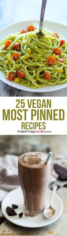 All these Vegan recipes have been pinned at least 50,000 times! Some have been pinned over 2 million times!