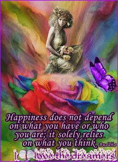 Happiness does not depend on what you have or who you are; it solely relies on what you think Buddha 🌹 🌹 🌹 🌹 🌹 I <3 the dreamers╭•⊰•*¨❥*•... Like ♥♪♫ Comment ♥♪♫ Share #ilovethedreamers, #love, #dreamers, #Archetypal, #Flame, #beauty, #health, #inspiration. #quotes, #2561000sep1st2017, , #peace, #joy,  #true, #wisdom, #wellbeing, #ArchetypalFlameBeautyHealthandInspiration,  #Ilovetravelingandexploring,