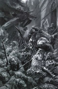 The Skaven armies invading the Province of Wissenland.