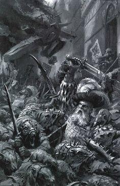 L'invasion du Wissenland, par (auteur inconnu), in Warhammer Battle, par Games Workshop