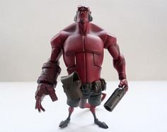 Cartoon Hellboy toy!